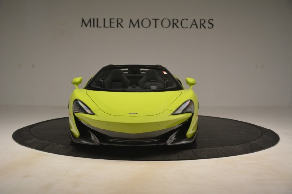 New 2020 McLaren 600LT Spider for sale $281,570 at Bugatti of Greenwich in Greenwich CT 06830 9