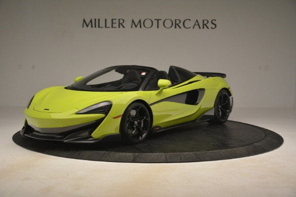 New 2020 McLaren 600LT SPIDER Convertible for sale $281,570 at Bugatti of Greenwich in Greenwich CT 06830 1