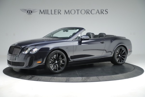 Used 2012 Bentley Continental GT Supersports for sale Sold at Bugatti of Greenwich in Greenwich CT 06830 2