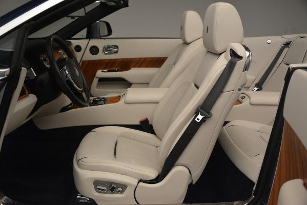 Used 2016 Rolls-Royce Dawn for sale Sold at Bugatti of Greenwich in Greenwich CT 06830 18
