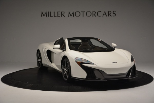 Used 2015 McLaren 650S Convertible for sale Sold at Bugatti of Greenwich in Greenwich CT 06830 10