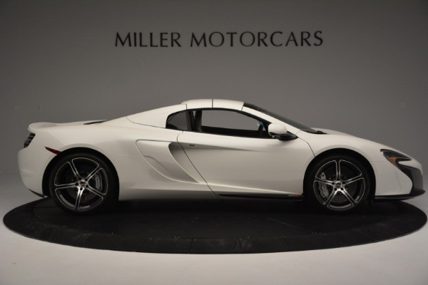 Used 2015 McLaren 650S Convertible for sale Sold at Bugatti of Greenwich in Greenwich CT 06830 14