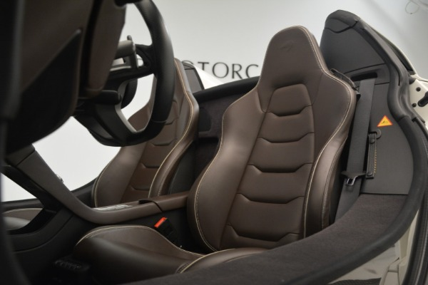 Used 2015 McLaren 650S Convertible for sale Sold at Bugatti of Greenwich in Greenwich CT 06830 20