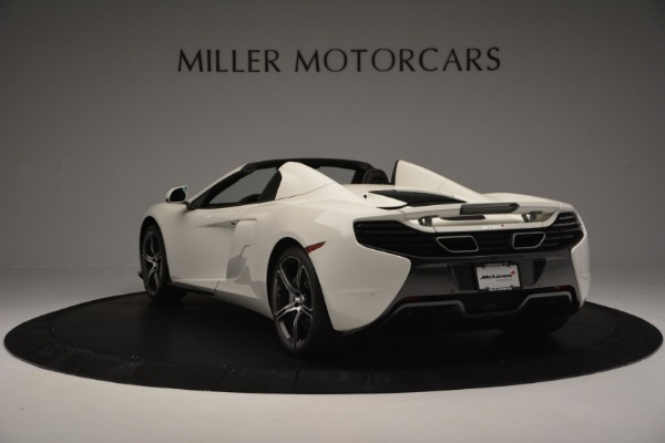 Used 2015 McLaren 650S Convertible for sale Sold at Bugatti of Greenwich in Greenwich CT 06830 4