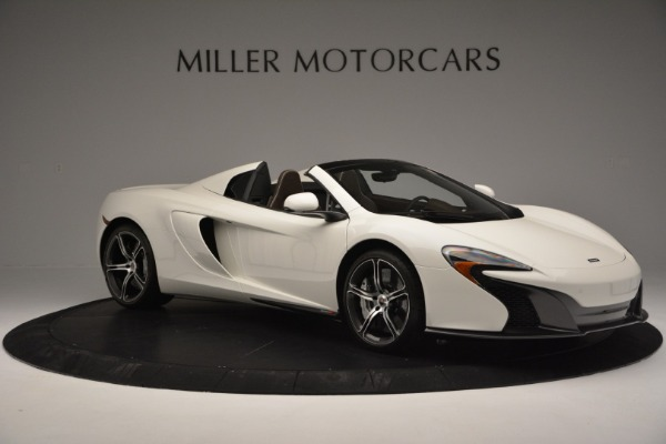 Used 2015 McLaren 650S Convertible for sale Sold at Bugatti of Greenwich in Greenwich CT 06830 9