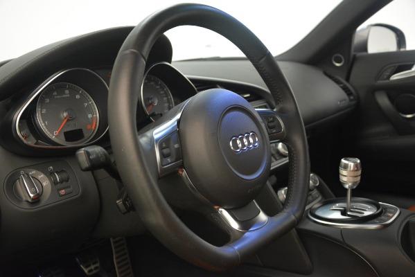 Used 2009 Audi R8 quattro for sale Sold at Bugatti of Greenwich in Greenwich CT 06830 20
