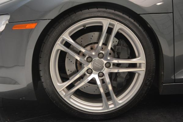 Used 2009 Audi R8 quattro for sale Sold at Bugatti of Greenwich in Greenwich CT 06830 22