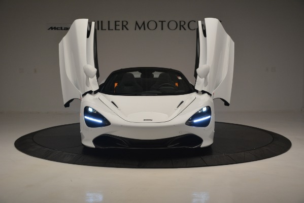 New 2020 McLaren 720S Spider Convertible for sale Sold at Bugatti of Greenwich in Greenwich CT 06830 17