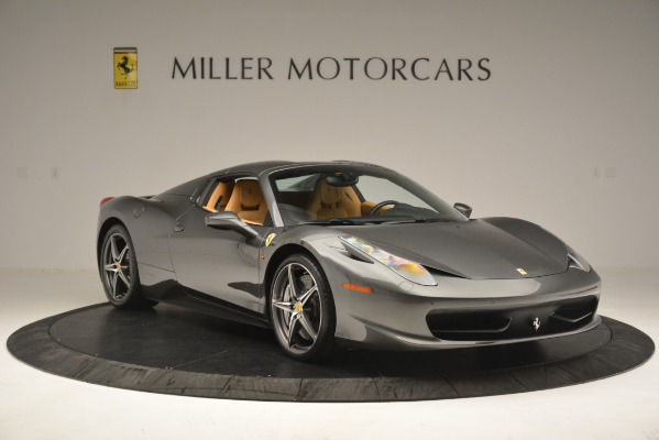 Used 2013 Ferrari 458 Spider for sale Sold at Bugatti of Greenwich in Greenwich CT 06830 13