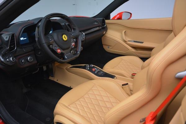 Used 2015 Ferrari 458 Spider for sale Sold at Bugatti of Greenwich in Greenwich CT 06830 19