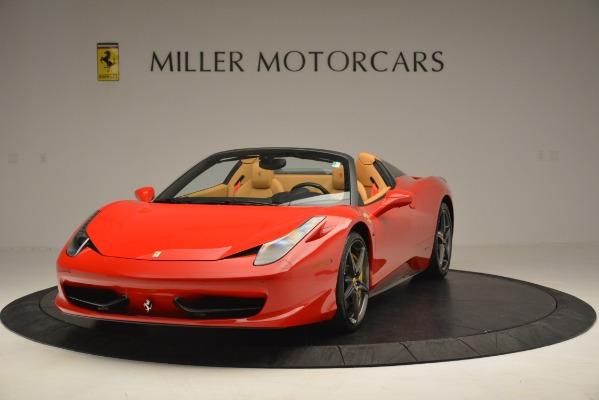 Used 2015 Ferrari 458 Spider for sale Sold at Bugatti of Greenwich in Greenwich CT 06830 1