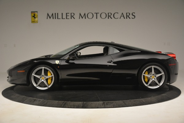 Used 2011 Ferrari 458 Italia for sale Sold at Bugatti of Greenwich in Greenwich CT 06830 3
