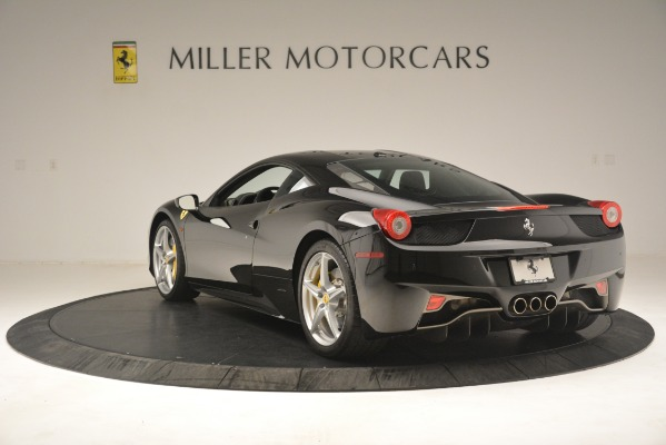 Used 2011 Ferrari 458 Italia for sale Sold at Bugatti of Greenwich in Greenwich CT 06830 5