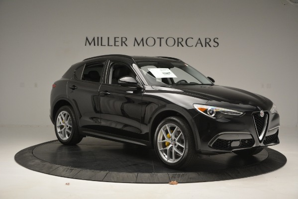 New 2019 Alfa Romeo Stelvio Ti Sport Q4 for sale Sold at Bugatti of Greenwich in Greenwich CT 06830 10