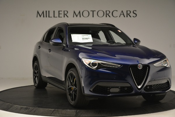 New 2019 Alfa Romeo Stelvio Ti Sport Q4 for sale Sold at Bugatti of Greenwich in Greenwich CT 06830 11