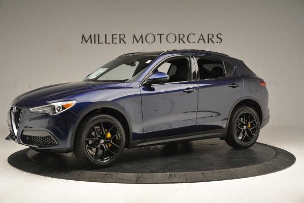 New 2019 Alfa Romeo Stelvio Ti Sport Q4 for sale Sold at Bugatti of Greenwich in Greenwich CT 06830 2