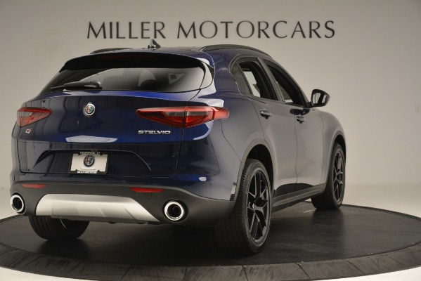 New 2019 Alfa Romeo Stelvio Ti Sport Q4 for sale Sold at Bugatti of Greenwich in Greenwich CT 06830 7