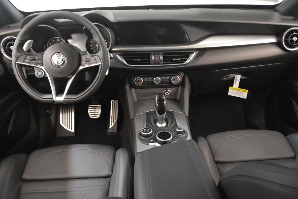 New 2019 Alfa Romeo Stelvio Ti Sport Q4 for sale Sold at Bugatti of Greenwich in Greenwich CT 06830 16