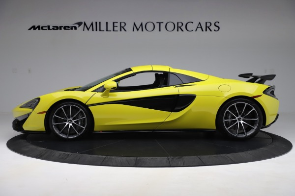 New 2019 McLaren 570S SPIDER Convertible for sale $227,660 at Bugatti of Greenwich in Greenwich CT 06830 10