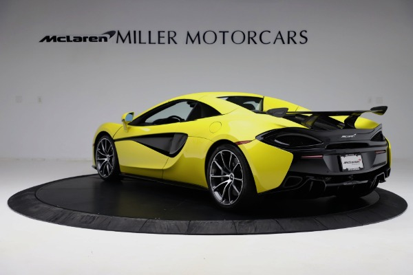 New 2019 McLaren 570S SPIDER Convertible for sale $227,660 at Bugatti of Greenwich in Greenwich CT 06830 11