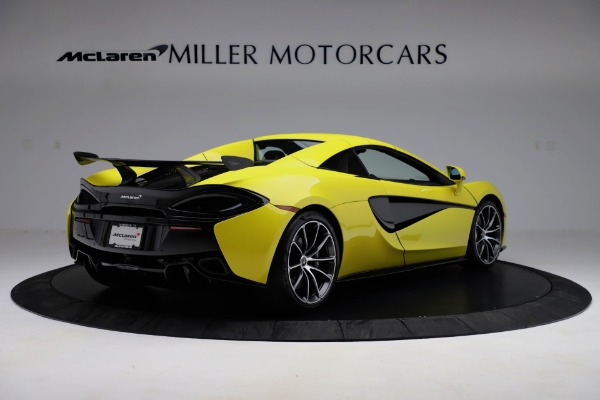 New 2019 McLaren 570S SPIDER Convertible for sale $227,660 at Bugatti of Greenwich in Greenwich CT 06830 13