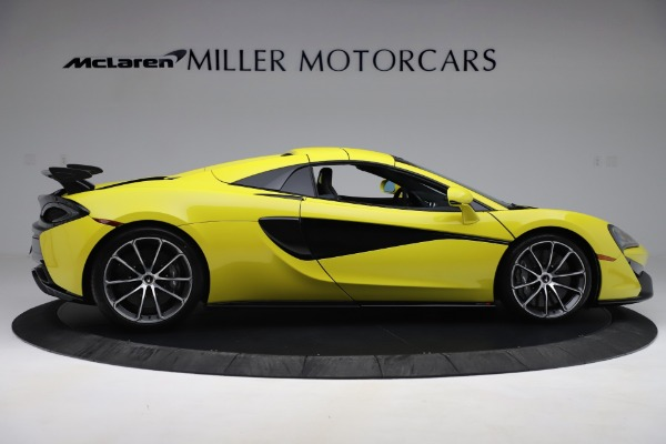 New 2019 McLaren 570S SPIDER Convertible for sale $227,660 at Bugatti of Greenwich in Greenwich CT 06830 14