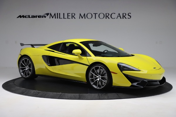 New 2019 McLaren 570S SPIDER Convertible for sale $227,660 at Bugatti of Greenwich in Greenwich CT 06830 15