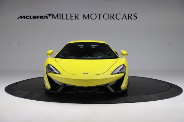 New 2019 McLaren 570S SPIDER Convertible for sale $227,660 at Bugatti of Greenwich in Greenwich CT 06830 16
