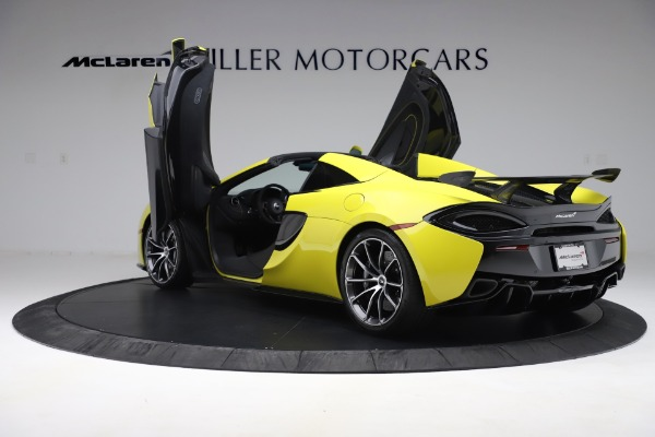 New 2019 McLaren 570S SPIDER Convertible for sale $227,660 at Bugatti of Greenwich in Greenwich CT 06830 19