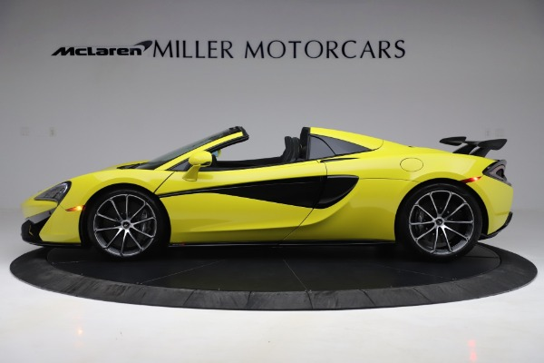 New 2019 McLaren 570S SPIDER Convertible for sale $227,660 at Bugatti of Greenwich in Greenwich CT 06830 2
