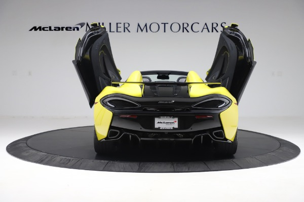 New 2019 McLaren 570S SPIDER Convertible for sale $227,660 at Bugatti of Greenwich in Greenwich CT 06830 20