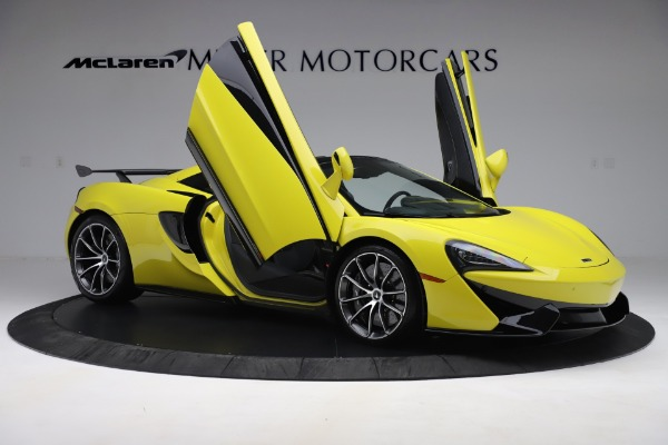 New 2019 McLaren 570S SPIDER Convertible for sale $227,660 at Bugatti of Greenwich in Greenwich CT 06830 22