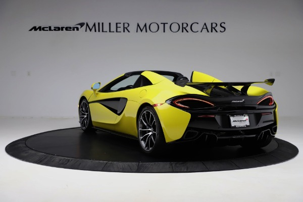 New 2019 McLaren 570S SPIDER Convertible for sale $227,660 at Bugatti of Greenwich in Greenwich CT 06830 3