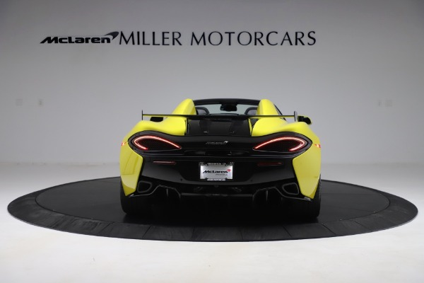 New 2019 McLaren 570S SPIDER Convertible for sale $227,660 at Bugatti of Greenwich in Greenwich CT 06830 4
