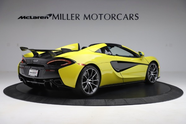 New 2019 McLaren 570S SPIDER Convertible for sale $227,660 at Bugatti of Greenwich in Greenwich CT 06830 5