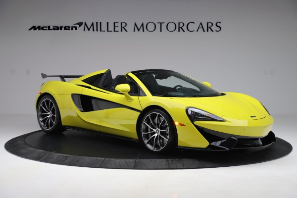 New 2019 McLaren 570S SPIDER Convertible for sale $227,660 at Bugatti of Greenwich in Greenwich CT 06830 7