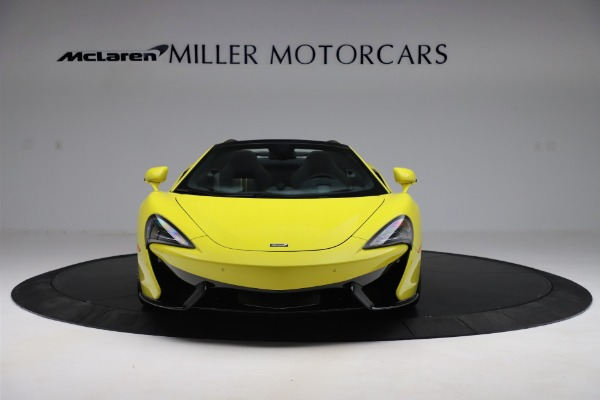 New 2019 McLaren 570S SPIDER Convertible for sale $227,660 at Bugatti of Greenwich in Greenwich CT 06830 8