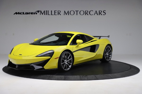 New 2019 McLaren 570S SPIDER Convertible for sale $227,660 at Bugatti of Greenwich in Greenwich CT 06830 9