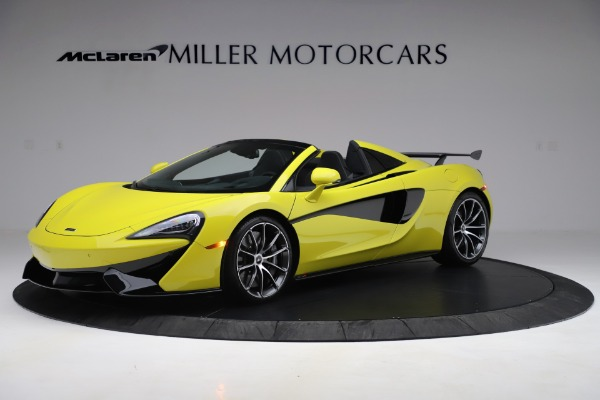New 2019 McLaren 570S SPIDER Convertible for sale $227,660 at Bugatti of Greenwich in Greenwich CT 06830 1