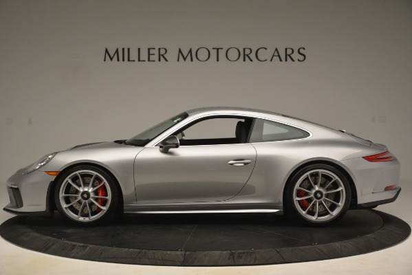 Used 2018 Porsche 911 GT3 for sale Sold at Bugatti of Greenwich in Greenwich CT 06830 3