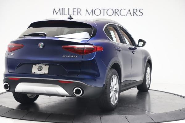 New 2019 Alfa Romeo Stelvio Ti Lusso Q4 for sale Sold at Bugatti of Greenwich in Greenwich CT 06830 7