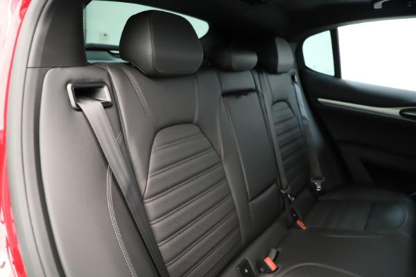 New 2019 Alfa Romeo Stelvio Ti Sport Q4 for sale Sold at Bugatti of Greenwich in Greenwich CT 06830 26