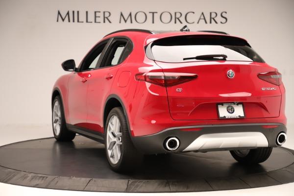 New 2019 Alfa Romeo Stelvio Ti Sport Q4 for sale Sold at Bugatti of Greenwich in Greenwich CT 06830 5