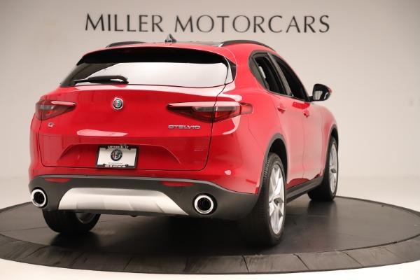 New 2019 Alfa Romeo Stelvio Ti Sport Q4 for sale Sold at Bugatti of Greenwich in Greenwich CT 06830 7