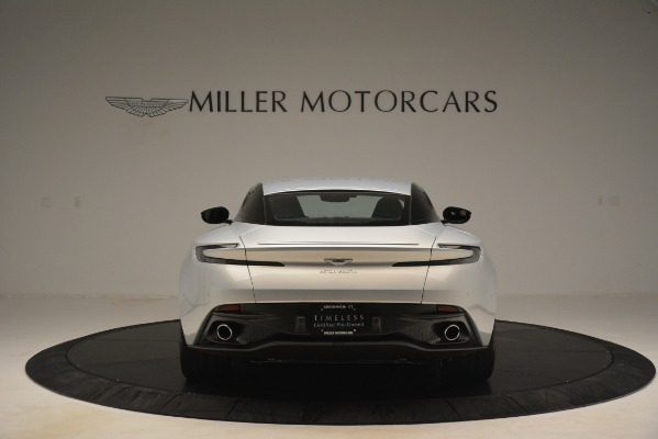 Used 2018 Aston Martin DB11 V12 Coupe for sale Sold at Bugatti of Greenwich in Greenwich CT 06830 5