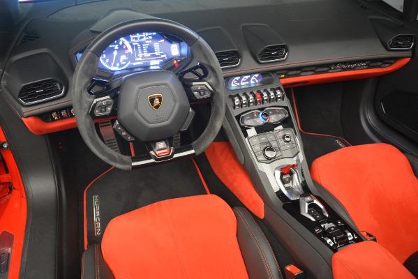 Used 2017 Lamborghini Huracan LP 610-4 Spyder for sale Sold at Bugatti of Greenwich in Greenwich CT 06830 19
