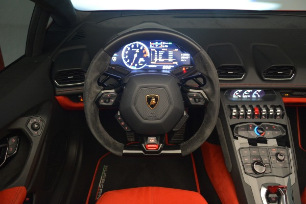 Used 2017 Lamborghini Huracan LP 610-4 Spyder for sale Sold at Bugatti of Greenwich in Greenwich CT 06830 20