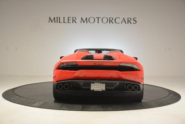 Used 2017 Lamborghini Huracan LP 610-4 Spyder for sale Sold at Bugatti of Greenwich in Greenwich CT 06830 4