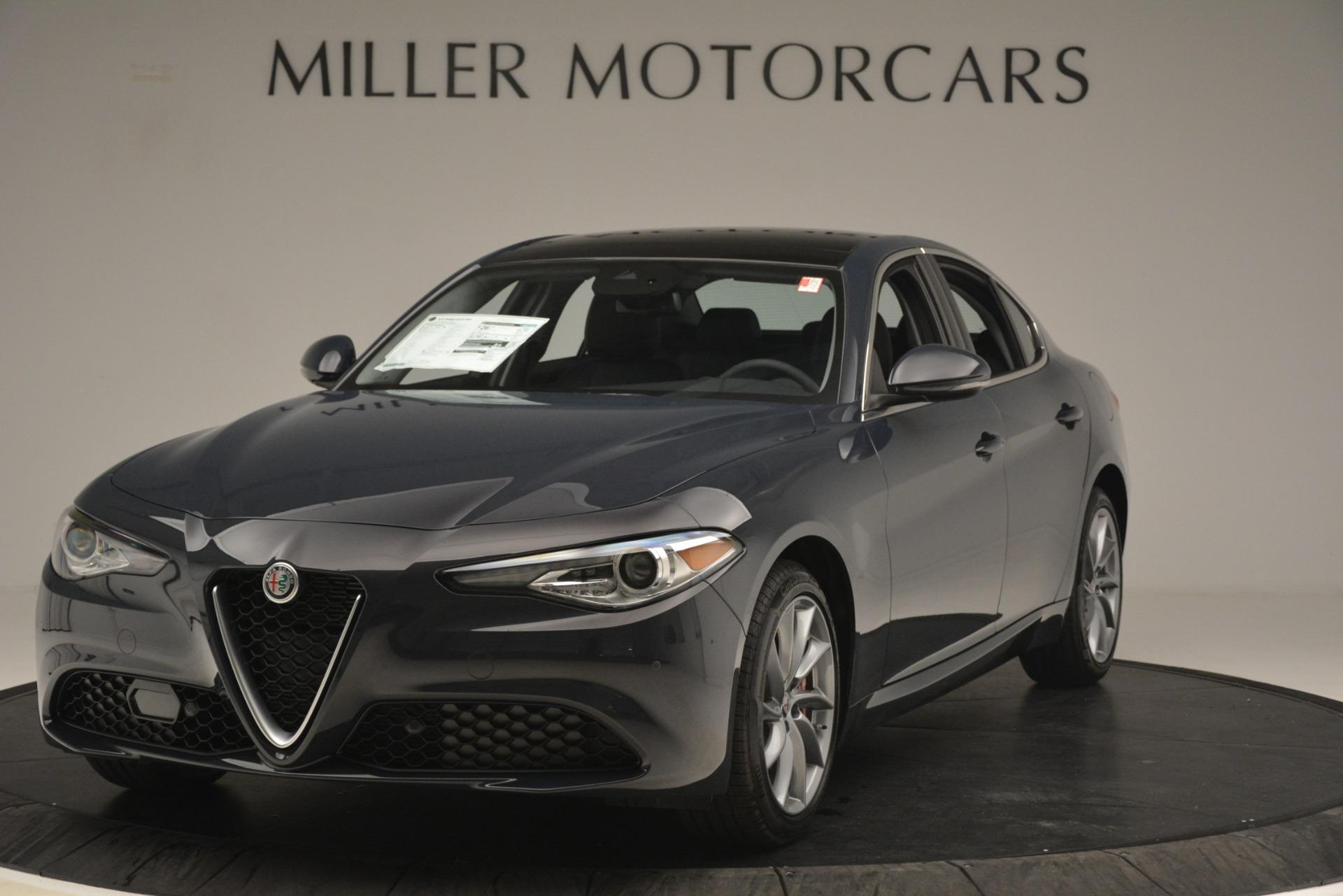 New 2019 Alfa Romeo Giulia Q4 for sale Sold at Bugatti of Greenwich in Greenwich CT 06830 1