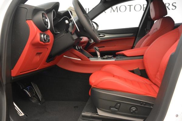 New 2019 Alfa Romeo Stelvio Ti Sport Q4 for sale Sold at Bugatti of Greenwich in Greenwich CT 06830 14